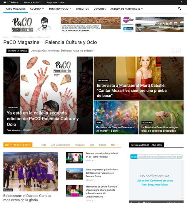 Paco Magazine - Palencia Cultura y Ocio