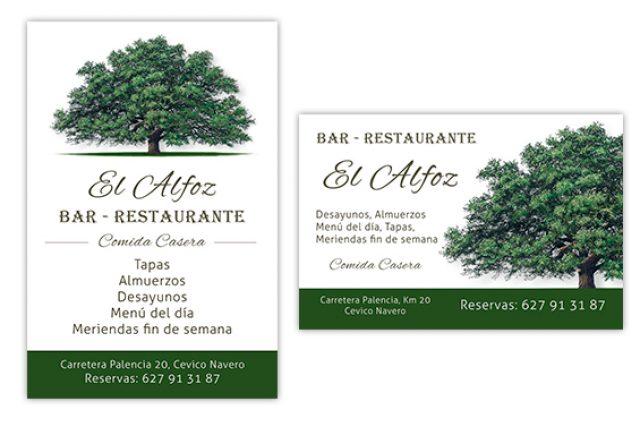 Restaurante El Alfoz