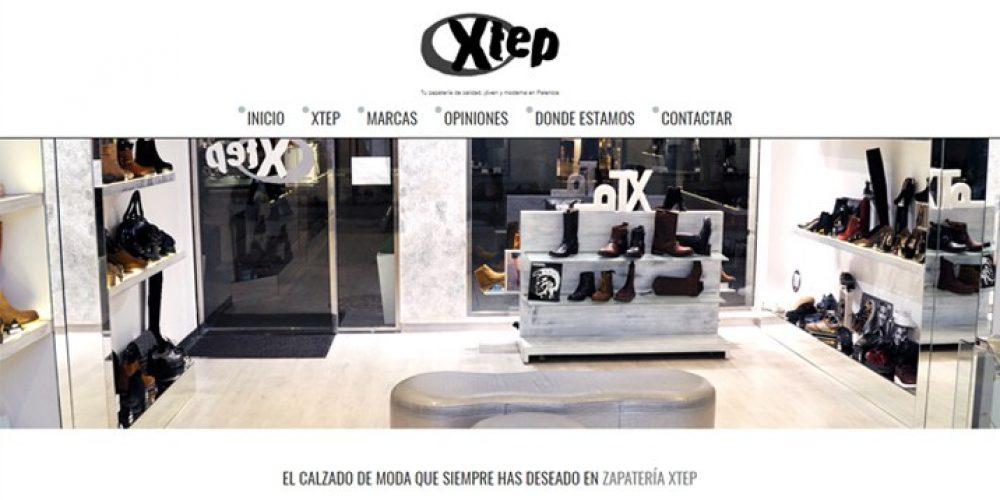 Presentamos la Web de Zapatería Xtep