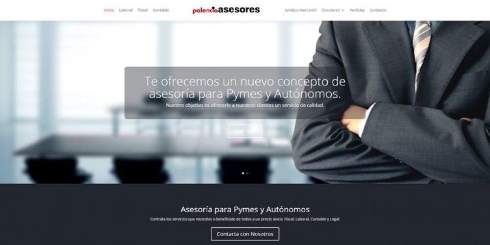 Presentamos la Web de Palencia Asesores