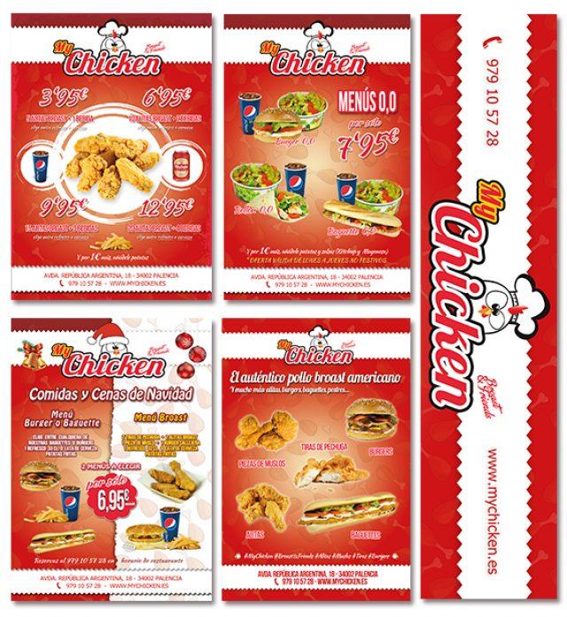 Publicidad My Chicken