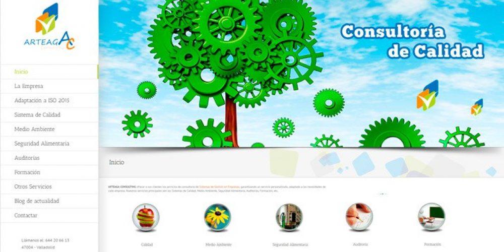 Presentamos la Web de Arteaga Consulting