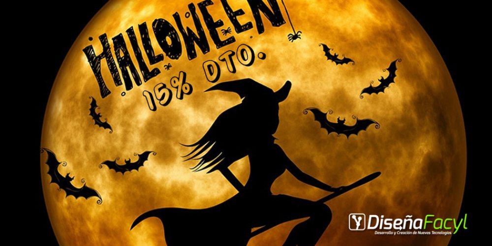 15% de descuento en Halloween