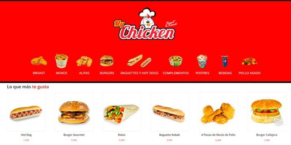 Presentamos la Web My Chicken