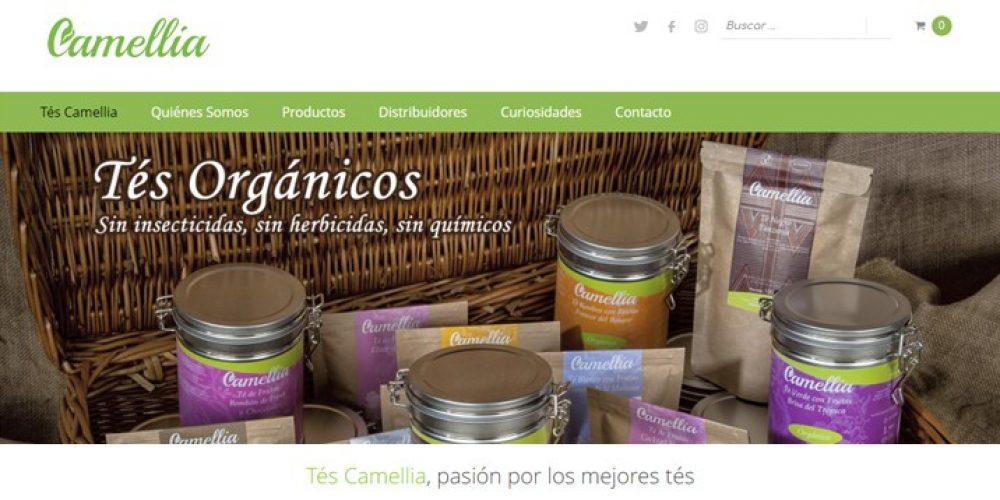 Presentamos la Web de Tés Camellia